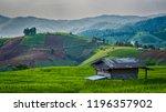 hdr landscape of single house... | Shutterstock . vector #1196357902