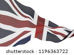 waving flag of the great... | Shutterstock . vector #1196363722