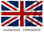 waving flag of the great... | Shutterstock . vector #1196364655