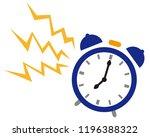 clock timer time alarm | Shutterstock .eps vector #1196388322