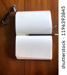 write notebooks and work. books ... | Shutterstock . vector #1196393845