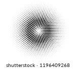 halftone background. fade... | Shutterstock .eps vector #1196409268