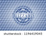blizzard blue badge with...   Shutterstock .eps vector #1196419045