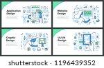 line illustrations of... | Shutterstock .eps vector #1196439352