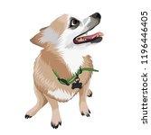 cute pet vector | Shutterstock .eps vector #1196446405