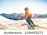 Professional Skier Athlete...