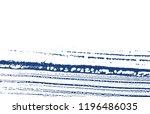 grunge texture. distress indigo ... | Shutterstock .eps vector #1196486035