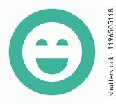 google smile icon. app. vector. ...