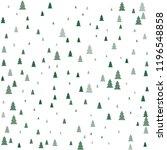christmas trees seamless... | Shutterstock .eps vector #1196548858