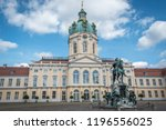 charlottenburg palace and... | Shutterstock . vector #1196556025