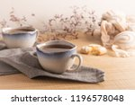 coockies with egg white cover.... | Shutterstock . vector #1196578048