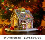 beautiful well decorated... | Shutterstock . vector #1196584798