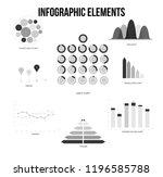 infographic elements  data... | Shutterstock .eps vector #1196585788