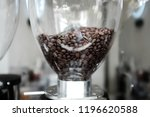 close up coffee maker and... | Shutterstock . vector #1196620588