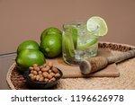 typical brazilian drink ... | Shutterstock . vector #1196626978