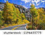 driving through the sonora pass ... | Shutterstock . vector #1196655775