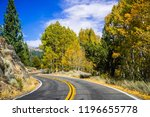 driving through the sonora pass ... | Shutterstock . vector #1196655778