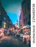 kobe   aug  18 2018  night life ...   Shutterstock . vector #1196683438