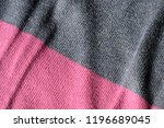knitted fabric texture and... | Shutterstock . vector #1196689045