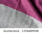 knitted fabric texture and... | Shutterstock . vector #1196689048