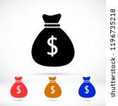 money bag vector icon