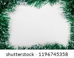 christmas and new year holiday... | Shutterstock . vector #1196745358