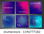 cover set with abstract... | Shutterstock .eps vector #1196777182