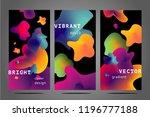 minimal backgrounds set.... | Shutterstock .eps vector #1196777188