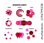 infographic elements  business... | Shutterstock .eps vector #1196799238