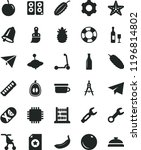 solid black flat icon set paper ... | Shutterstock .eps vector #1196814802
