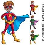 full length illustration of... | Shutterstock .eps vector #1196815498
