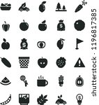 solid black flat icon set... | Shutterstock .eps vector #1196817385