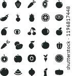 solid black flat icon set beet... | Shutterstock .eps vector #1196817448