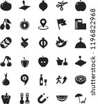 solid black flat icon set... | Shutterstock .eps vector #1196822968
