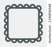 frame baby vector | Shutterstock .eps vector #1196836468