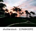 hawaii maui sunset | Shutterstock . vector #1196843392