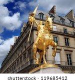 Paris   July 30  Statue Of Joa...