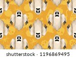 halloween seamless pattern.... | Shutterstock . vector #1196869495