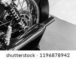 Vintage Motorcycle Engine...