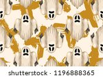 halloween seamless pattern.... | Shutterstock . vector #1196888365