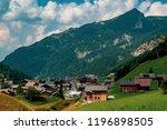 malbun  liechtenstein  20th... | Shutterstock . vector #1196898505