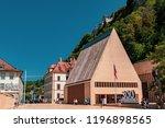 vaduz  liechtenstein  16th... | Shutterstock . vector #1196898565