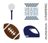 set of 4 simple vector icons...   Shutterstock .eps vector #1196898982