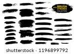 large set different grunge... | Shutterstock .eps vector #1196899792