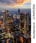 frankfurt at night | Shutterstock . vector #119692306