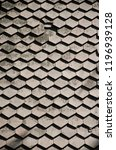shingles and briks tiles... | Shutterstock . vector #1196939128