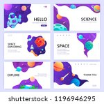 set of web banners templates.... | Shutterstock .eps vector #1196946295