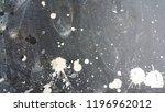 black plastic surface   dirty... | Shutterstock . vector #1196962012