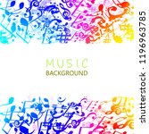 music background with colorful...   Shutterstock .eps vector #1196963785