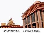 image of the distinctive vimana ... | Shutterstock . vector #1196965588